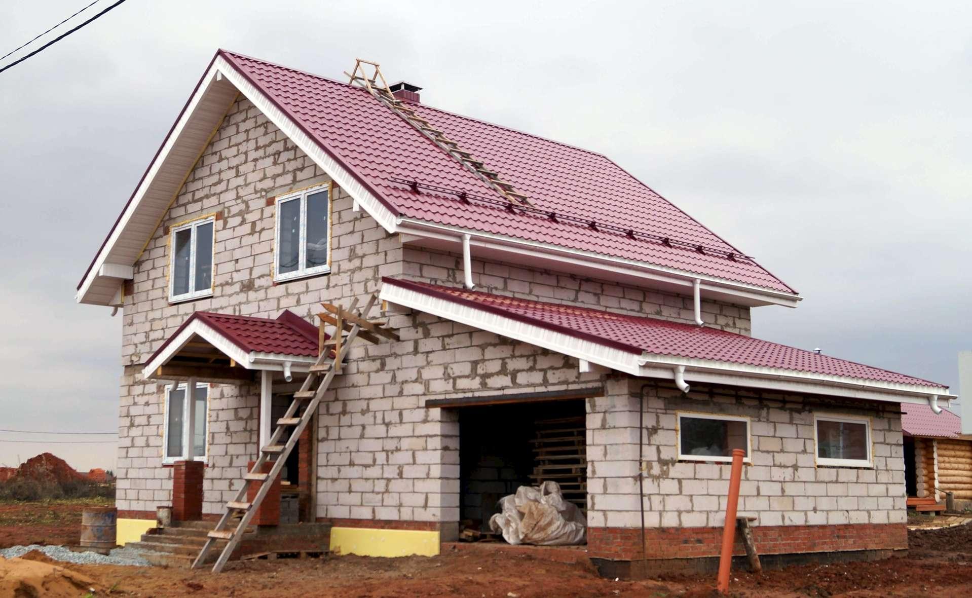 строительная компания из пеноблоков с обустройством территории